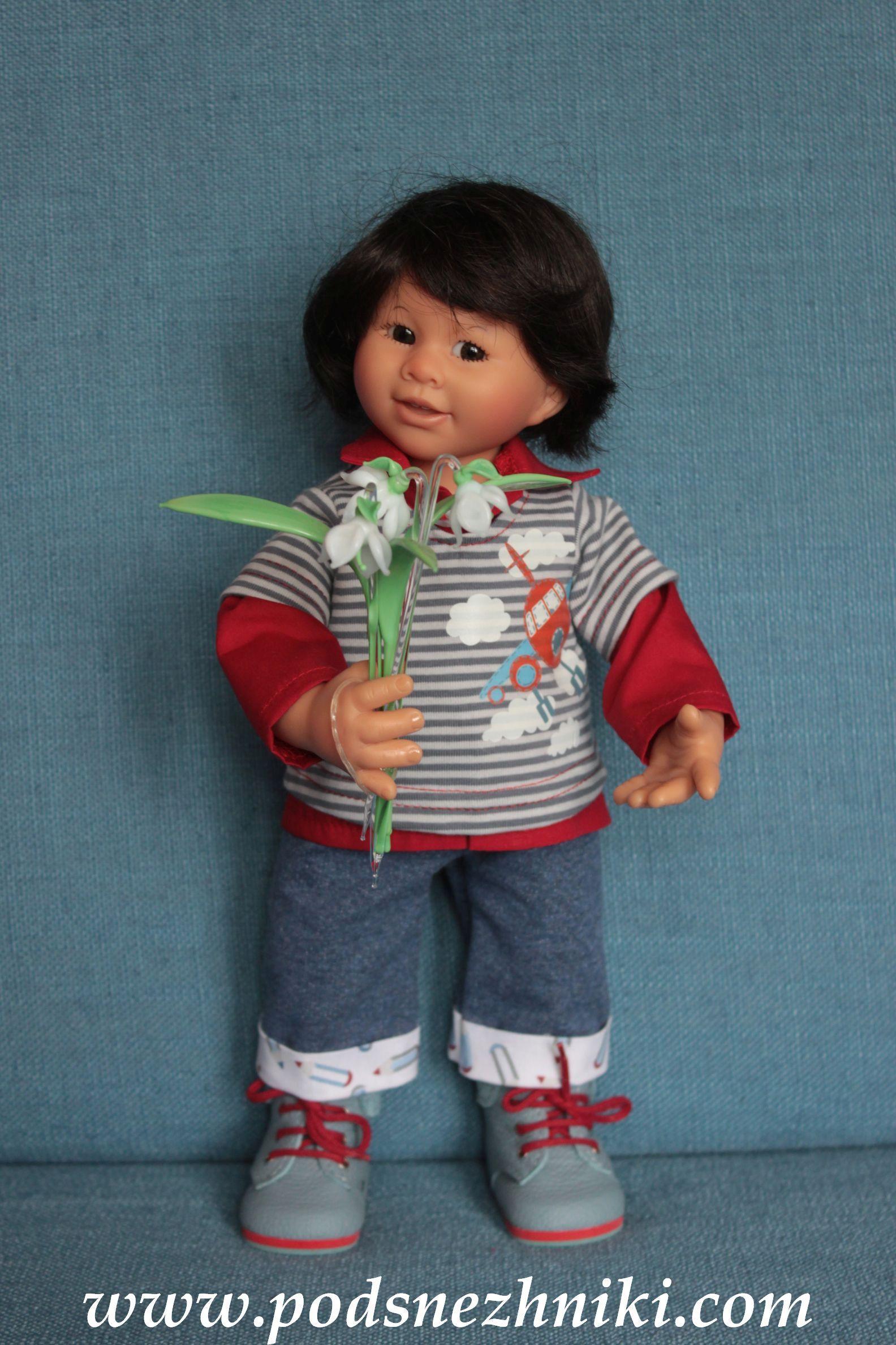 Коллекционная кукла Schildkrot Akio 2019
