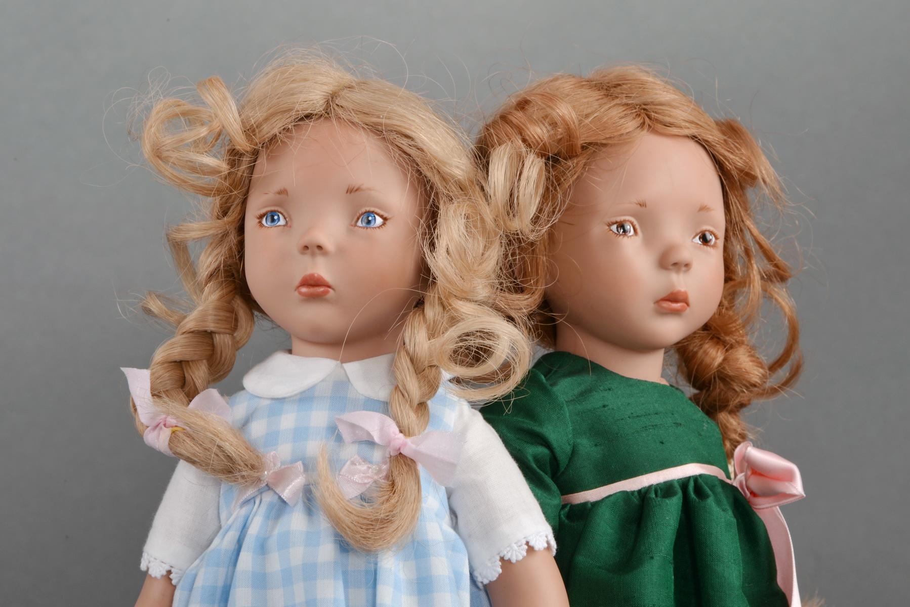 Игровая кукла Klarchen, Zwergnase 2016 год. Рост 50 см.